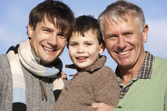 Generations portrait Royalty Free Stock Photos