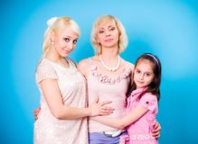 generations of women Royalty Free Stock Photo