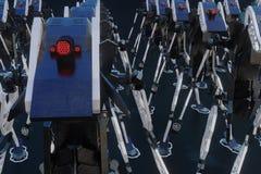 Generativ robot - illustration 3D vektor illustrationer