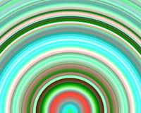 Generative Art Neon Green Red Hues Sundawn Royalty Free Stock Photos