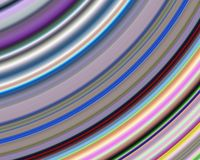 Generative Art Random Colors Concentric Lines C Royalty Free Stock Image