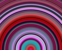 Generative Art Red Blue Magenta Hues Sundawn Royalty Free Stock Photo