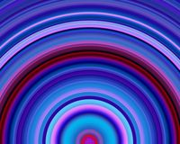 Generative Art Red Blue Violet Hues Sundawn Royalty Free Stock Photography