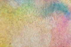 Generative multiple shapes pixel mosaic for design wallpaper, texture or background. Pattern, art, group, pixelated & tiled. Generative multiple shapes Stock Photo