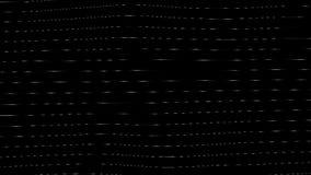 Generative Sichtbarmachungen Digital-Geräusche stock footage