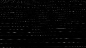 Generative Sichtbarmachungen Wellen auf Glas ähnlicher Beschaffenheit stock video footage