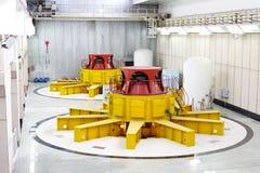 generatorów turbina woda Zdjęcia Royalty Free