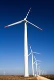 generatorów władzy wiatr Obrazy Royalty Free