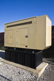 Generator. Installed on cellular compound Stock Image