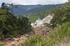 Generator building of Kamchay dam Royalty Free Stock Image