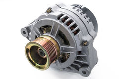 Car alternator Stock Image