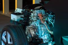 Generator dla samochodu Obraz Royalty Free