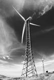 generator energii elektrycznej wiatr Fotografia Stock