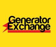 Generator Exchange Logo Royalty Free Stock Photo