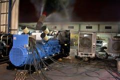 Generator-Test stockfoto