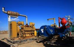 Generator und Pumpe Stockfoto