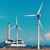 Generator, wind turbine Royalty Free Stock Photo