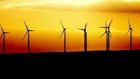 Generatore di corrente del generatore eolico a penombra cyprus video d archivio