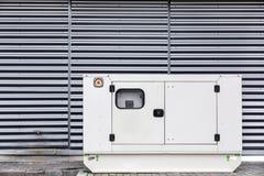 Generatore di corrente elettrico mobile per le situazioni di emergenza Immagini Stock Libere da Diritti