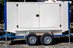 Generatore di corrente elettrico mobile per le situazioni di emergenza Fotografia Stock Libera da Diritti