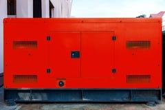 Generatore di corrente elettrico mobile per le situazioni di emergenza Fotografia Stock
