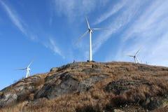 Generatore di energia eolica Immagini Stock