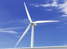 Generatore di energia eolica Immagini Stock Libere da Diritti