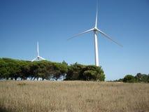 Generatore di energia eolica fotografia stock