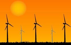 Generatore di vento illustrazione vettoriale