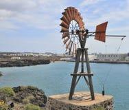 Generatore di vento Immagine Stock