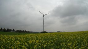 Generatore eolico stock footage