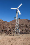 Generatore eolico Fotografie Stock