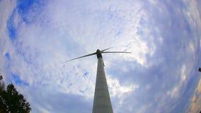 Generatore eolico video d archivio