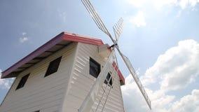 Generatore eolico domestico video d archivio
