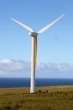 Generatore eolico nel moto Immagine Stock