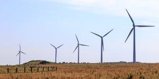 Generatore eolico in Normandia Francia immagini stock