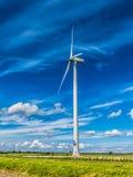 Generatore eolico in ploder, Paesi Bassi Fotografia Stock
