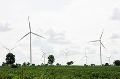 Generatore eolico a turbina Immagine Stock
