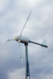 Generatore eolico urbano Fotografie Stock Libere da Diritti
