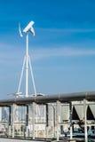 Generatore eolico verticale Fotografia Stock