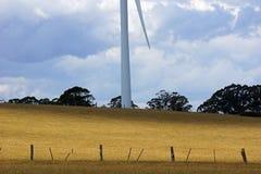 Generatore eolico in Victoria centrale, Australia Fotografia Stock