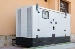 Generatore per energia elettrica di emergenza Immagine Stock