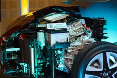 Generatore per l'automobile Fotografia Stock Libera da Diritti