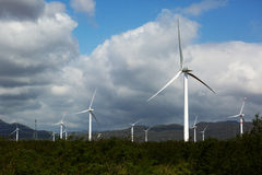 Generatori di energia eolica Fotografie Stock