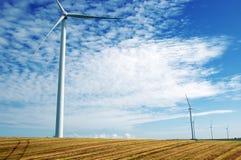 Generatori di vento Immagini Stock