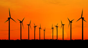 Generatori di vento Immagine Stock