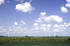 Generatori eolici Fotografie Stock Libere da Diritti