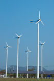 Generatori eolici Immagini Stock Libere da Diritti