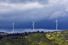 Generatori eolici 3 Immagine Stock