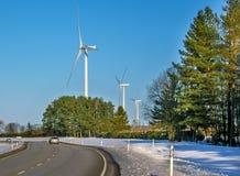 Generatori eolici Immagini Stock